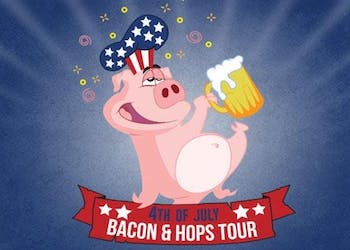 Bacon and Beer 4th of July Bar Crawl