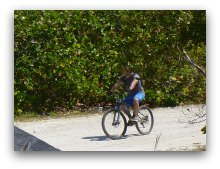 Biking at Oleta