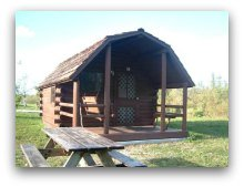 Camping Cabins at Oleta