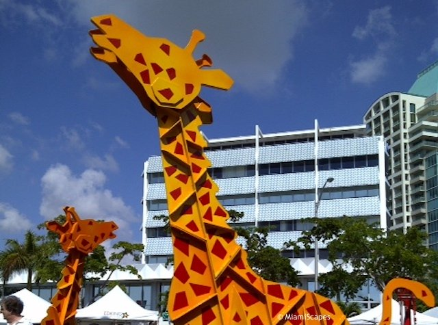 Sculptures at Coconut Grove Art Festival