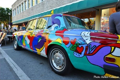 Coconut Grove Arts Festival A Car is the Canvas