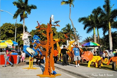 Coconut Grove Arts Festival Outdoor Art