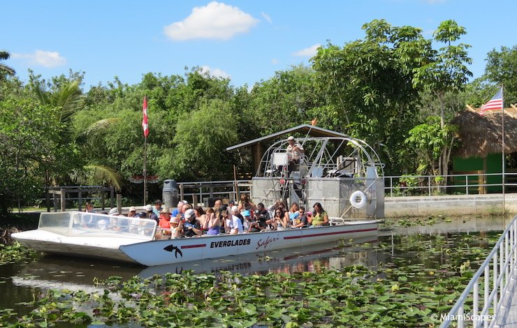 Everglades Airboat Tours near Miami