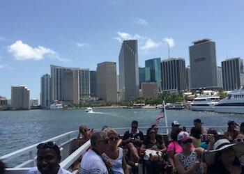 Biscayne Bay Boat Tours and skyline views