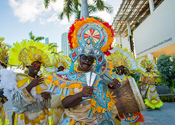 Junkanoo Parade on Ocean Drive Memorial Day