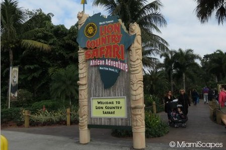 Lion Country Safari Entrance