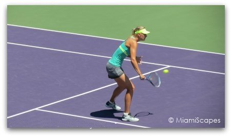Maria Sharapova at the 2013 Sony Open in Miami