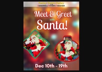 Meet and Greet with Santa at Sandrells River Theater