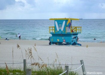 Miami Beaches: South Beach and 1 St Lifeguard Tower