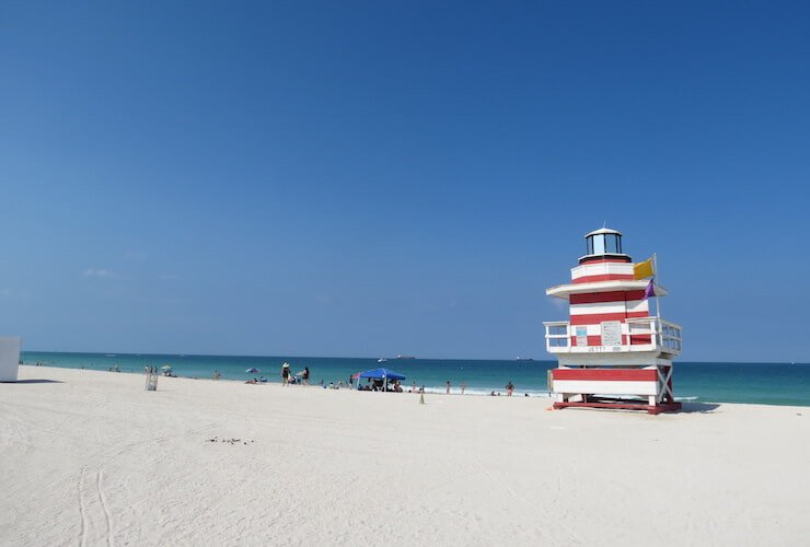 Miami Beaches: South Pointe Jetti
