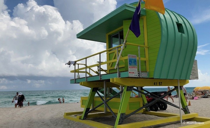 Lifeguard Tower at 41st st