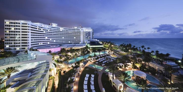 Mid-Beach: The Fontainebleau