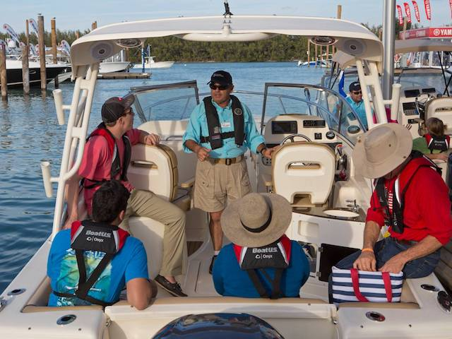 Miami Boat Show Discover Boating On-Water Seminar