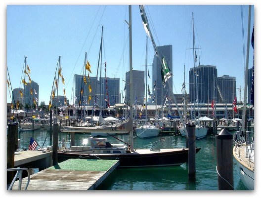 Miami International Boat Show and StrictlySail at Bayside