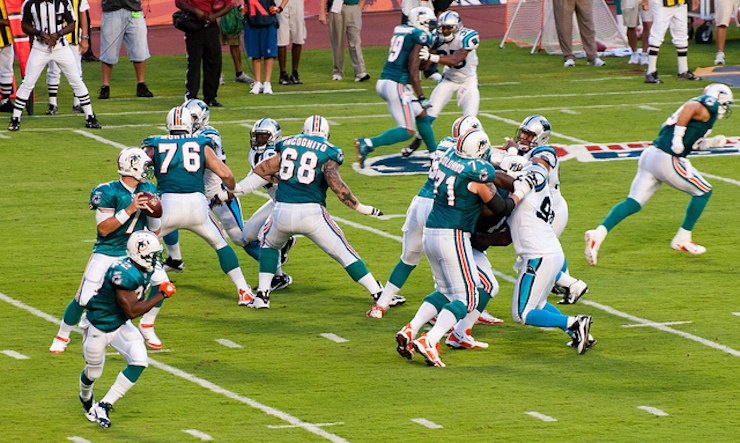 Miami Dolphins  Season Opens in September