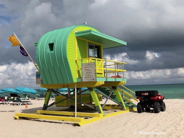 Lifeguard Tower on 41 Street