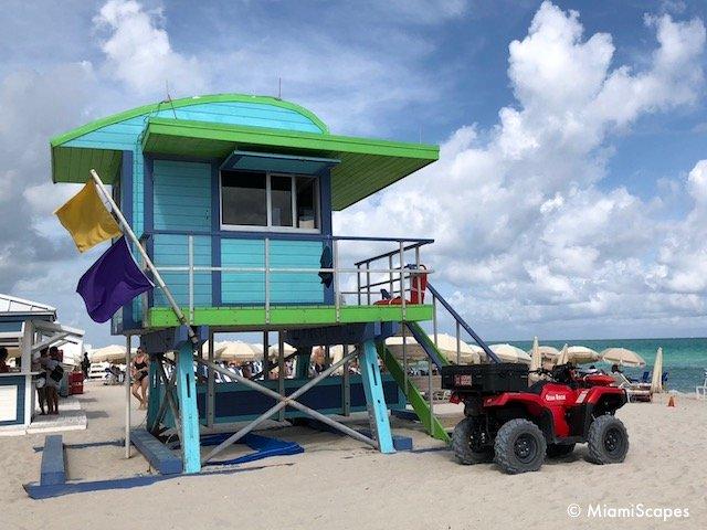 Lifeguard Tower on 43 Street