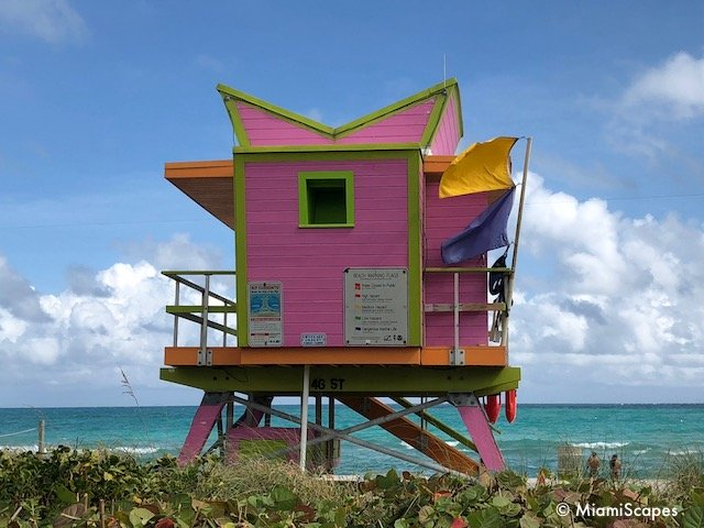 Lifeguard Tower on 46th Street
