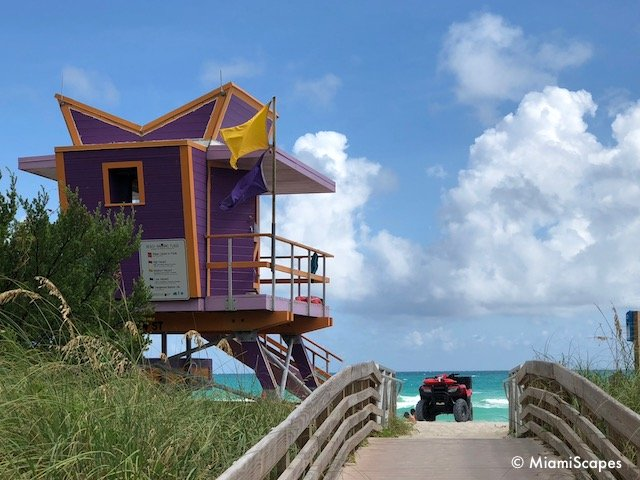 Lifeguard Tower on 64th Street