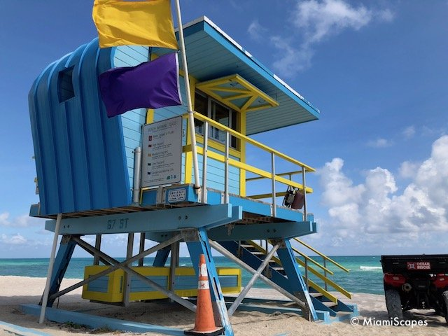 Lifeguard Tower on 67th Street