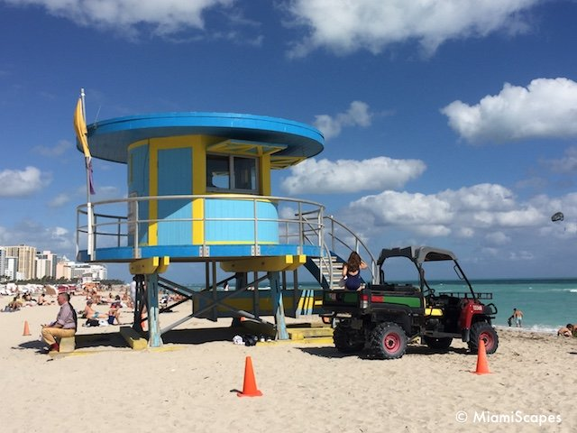 Lifeguard Tower on Lincoln Road