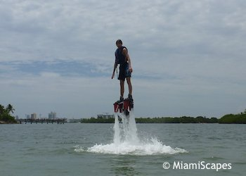 Flyboarding at Oleta River State Park