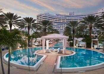 The Fountainbleau in Miami Beach