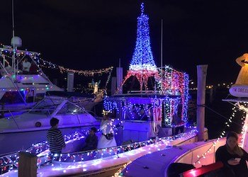 Boat Parade Miami Christmas