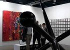 Art Basel exhibition hall