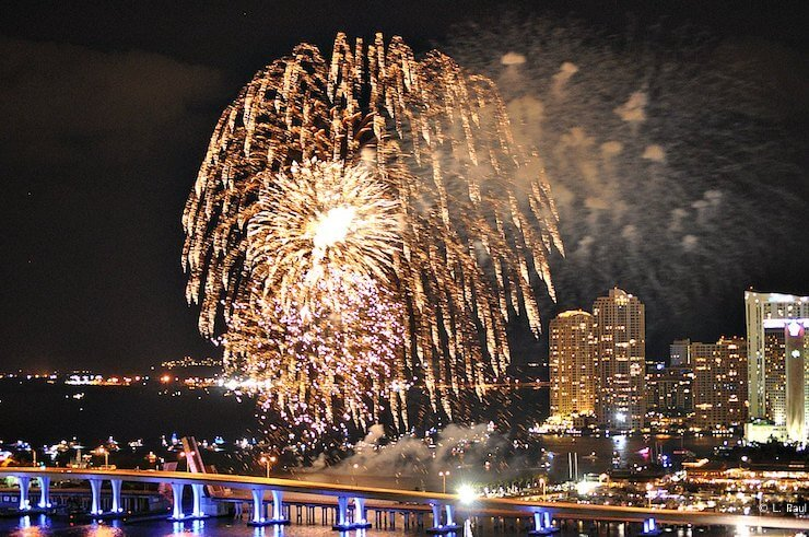 New Year's Eve Fireworks Miami