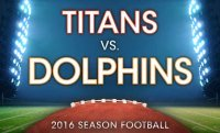 NFL preseason Dolphins vs Titans discount tickets