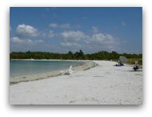 Beach at Oleta River