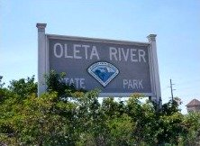 Oleta River State Park Entrance