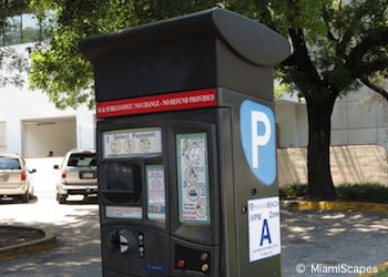 Parking payment at the lots