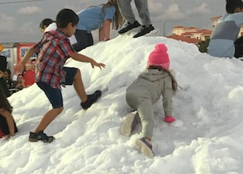 Snowfest in Pembroke Pines