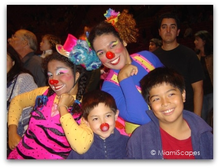 Ringling Bros Circus Miami Pre Show with Clowns