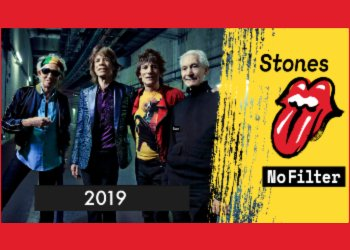 Rolling Stones No Filter Tour 2019