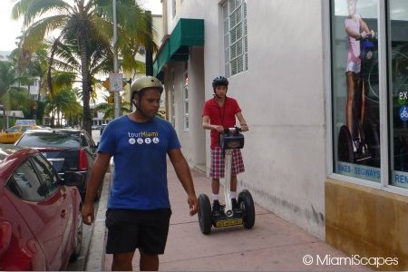 Segway Tour in Miami: learning the basics
