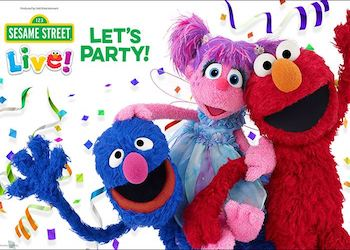Sesame Street Lets Party