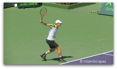 Andy Murray at the Sony Open 2013
