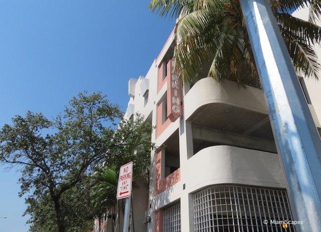 South Beach Municipal Parking Garage on 13th Street