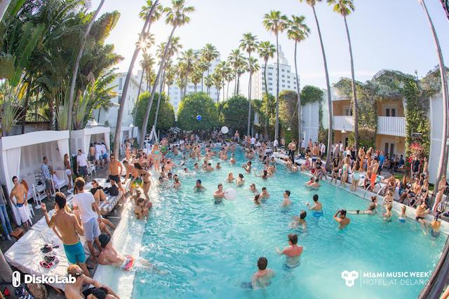 Miami Music Week Hotels: Delano during Spring Break