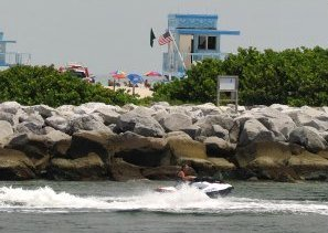 Jet Skiing at Bal Harbour Beach