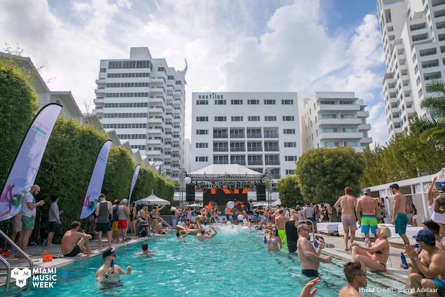 Miami Music Week Pool  Parties
