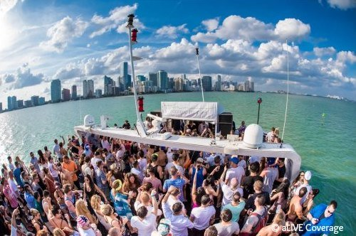 Miami Music Week Yacht  Parties