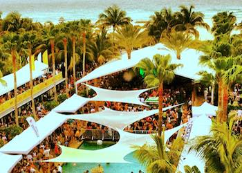 Spring Break parties at Surfcomber Hotel