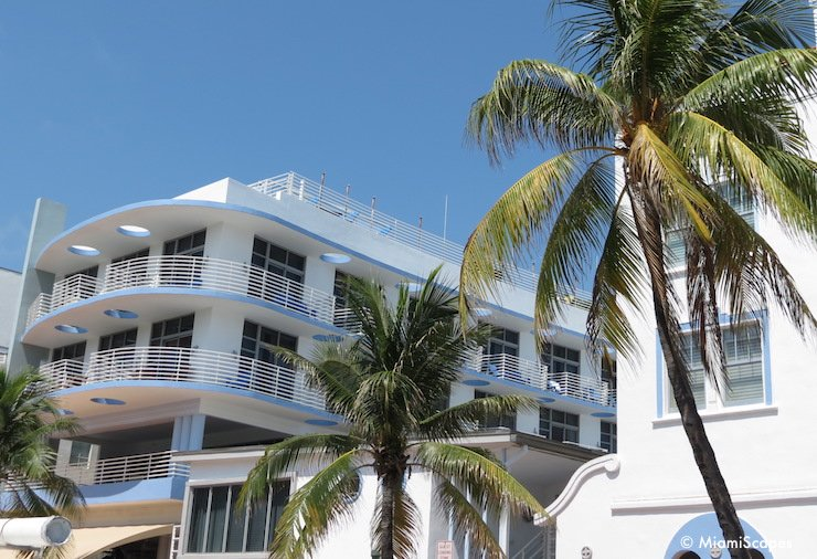 Miami Art Deco District Ocean Drive