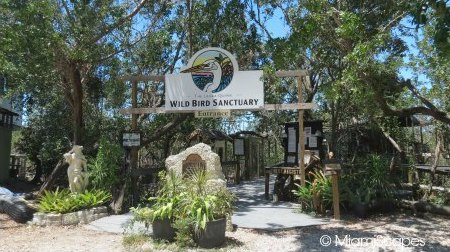 Entrance tp the Florida Keys Wild Bird Sanctuary