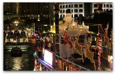 Winterfest Boat Parade in Ft. Lauderdale