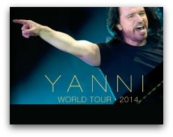 Yanni World Tour in Miami